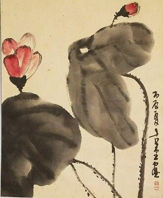Original Korean painting- flower