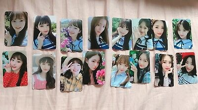FROMIS_9  2nd mini album 두근두근 official  Photocard  d-1 ver (choose 1)