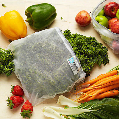 Onya Reusable Produce Bags: Eco Mesh Fruit & Vegetable Bags - Pack of 8