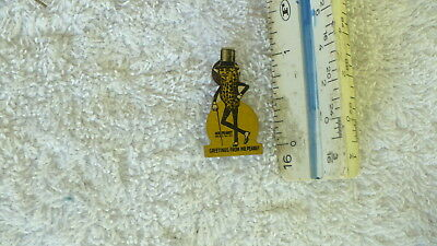 1950'S Greetings From Mr. Peanut pocket clip on