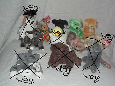 8x The Beanie Babies Collection