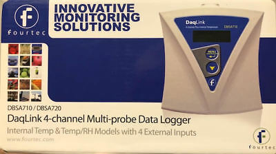 DaqLink 4-Channel Multi-Probe Data Logger DBSA710 - BRAND NEW!
