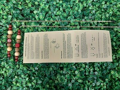 R02 Dowsing Rods Divining L-Rods - handcrafted Brass, Water, Ghosts, Gems