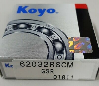 6203-2RS (Nachi) Deep Groove Ball Bearing Two contact seal 17*40*12 JAPANESE