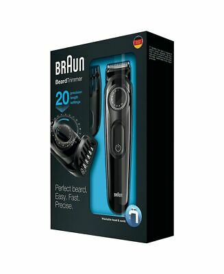 Braun BT5070 Beard Trimmer/25 Length Settings/Fully Washable for Easy Cleaning