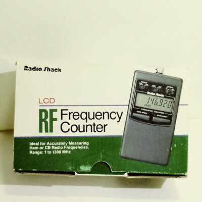 RADIO SHACK Frequency Counter No. 22-305