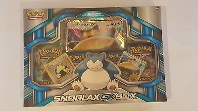 Pokemon TCG Snorlax GX Box Promo