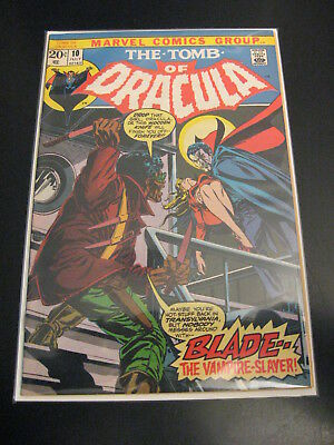 TOMB OF DRACULA #10 1st Blade! (VF/VF-) or (VF-) *Uber Tight, Bright & Glossy!*
