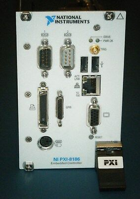 NI PXI-8186 Embedded Controller, 2.2GHz/30GB/512MB, National Instruments *Tested