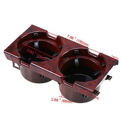 Front Center Console Drink Cup Holder fit BMW 3-Series E46 320i 325i 330i M3