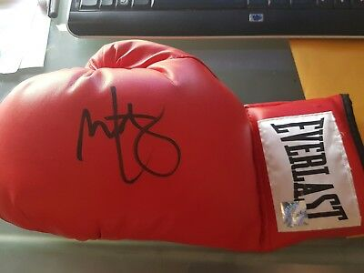 """Mark Wahlberg Personally Signed Everlast Boxing Glove """" The Fighter"""""""