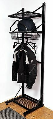 BikerTidy Motorcycle Motorbike Clothing jacket helmet storage rack shelves