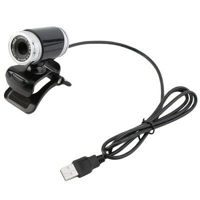 Black USB HD Webcam Web Cam Camera for Computer PC Laptop FNsktop FN