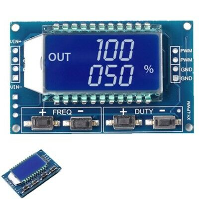 Signal Generator PWM Pulse Frequency Duty Cycle Adjustable Module LCD Display FN