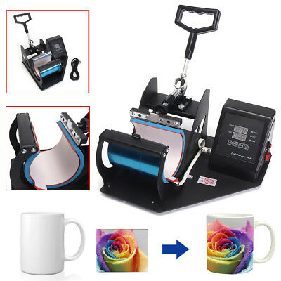 Heat Press Transfer Sublimation Machine for Coffee Mug Cup Print Digital Display