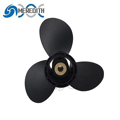 Aluminum-Outboard-Propeller 9-1/4x9 for Suzuki 8-20HP 58100-94J00-019 10T