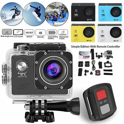 SJ9000 4K Wifi Ultra HD 1080P Sport Action Camera DV Video Waterproof Camcorder