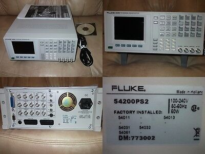FLUKE 54200 PS2 TV Signal Generator, 5 Installation, netto: 550€