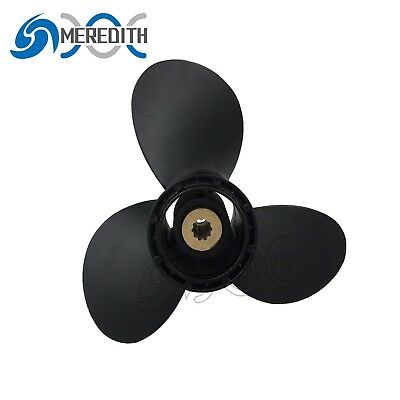 Aluminum-Outboard-Propeller 9-1/4x10 for Suzuki 8-20HP 58100-93733-019 10T
