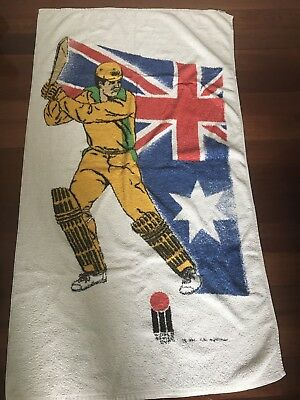 Retro World Series Cricket Towel