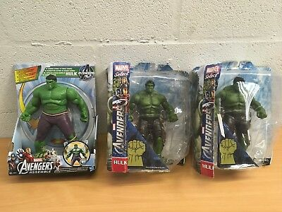Marvel Select Hulk Or Gamma Strike New You Choose