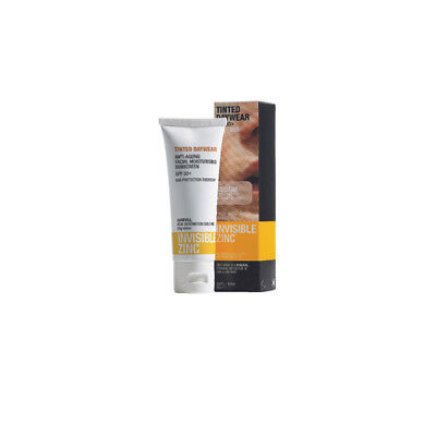 NEW Invisible Zinc Sunscreen Tinted Daywear SPF 30+ 50g Sun Protection