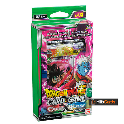 Dragon-Ball Super Card Game: Cross Worlds Special Pack Set - SP03 Z