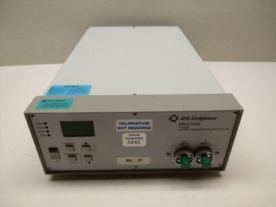 JDS Uniphase SWS15104, Sn. JD075868 4-state polarization controller, net: 1667€