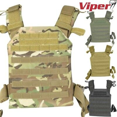 Viper Elite Carrier Vest Airsoft Webbing Paintball Tactical Molle Armour Army