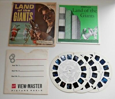 Land Of The Giants 1968 Viewmaster Reels Set B494 Rare  B419