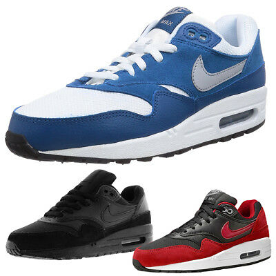 Shoes Trainers Air Running Nike 1 Leather Suede Youth Max Boys Bnwt Size mn8w0N