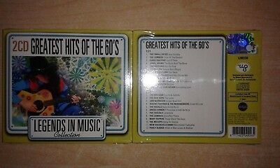 Greatest Hits Of 60' - Collection - Best Box - 2 Cd Nuovo Sigillato
