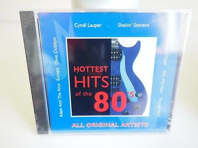 Hottest Hits of the 80s - Various Artists - Cd! Brand New! Bargain Price!
