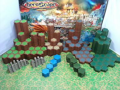 Expand Your Heroscape Battlefield with Terrain Variety Pack #4 - 609 Total Hexes