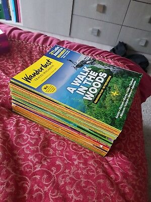 Wanderlust Travel Magazines (good condition) (April 2015 - March 2017)