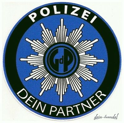 polizei gdp aufkleber sticker innenaufkleber polizeiaufkleber autostern auto eur 1 00. Black Bedroom Furniture Sets. Home Design Ideas