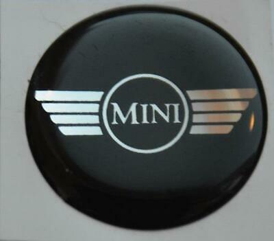 Classic Mini Wings Round Sick On Emblem Sticker Decal Label