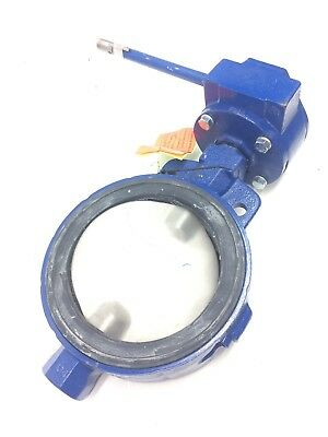 "KEYSTONE 8"" Butterfly Valve Cast Iron With 316 SS Disc & Stim EPDM Seat"