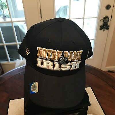 741dbc2dee New Notre Dame Fighting Irish Navy Stretch Fit Hat by Top of the World -  OSFM