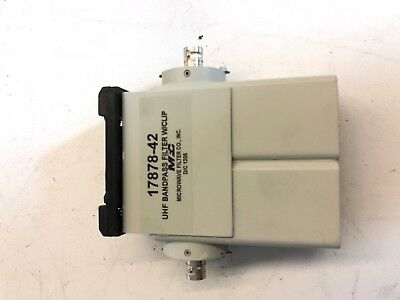 DTV Bandpass Filter - UHF 2 Cavity - Microwave Filter Company Series 3278