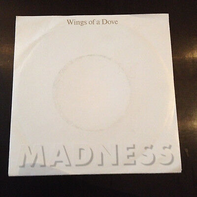 "Madness - Wings of a dove - 7"" embossed PS (D/82)  Stiff BUY 181 / 6.13929 AC"