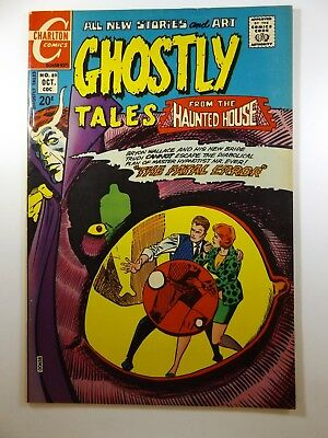 """Ghostly Tales #89 """"The Fatal Error!"""" Ditko Art!! Beautiful VF Condition!!"""