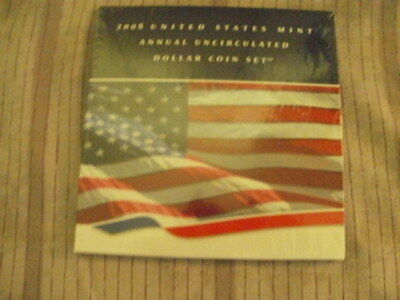2008 United States Mint Annual Uncirculated Dollar Coin Set