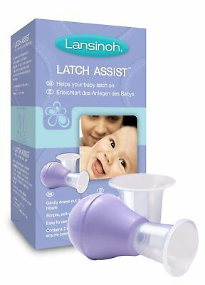 Lansinoh Latch Assist Dual Cone For Inverted or Flat Nipples