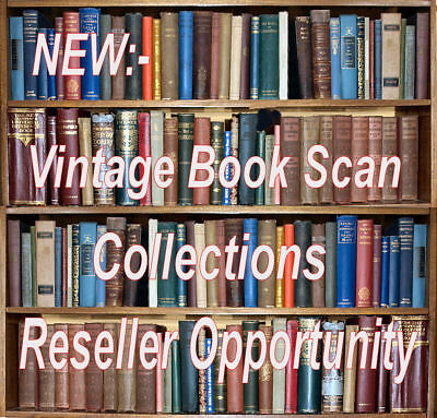 Make Monet Selling Vintage Book Scan Discs/Downloads - RESELL RIGHTS OPPORTUNITY