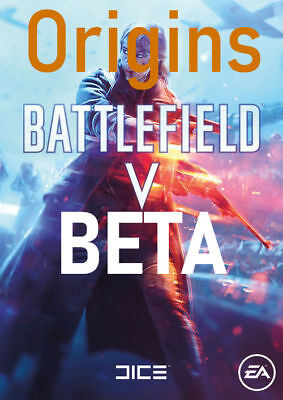 Battlefield V 5 Beta Key EA Origin Download Code BF V Beta Key - PC