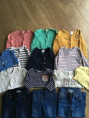 Large Bundle Of Girls Clothes From Next - Size 2-3 Years