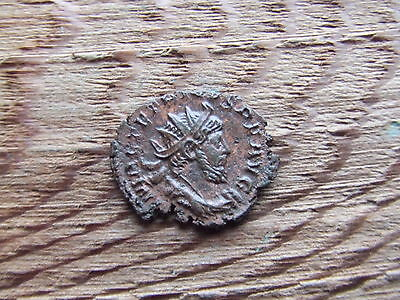 Roman.  Tetricus I.  270-273Ad. Bronze. Coin.   Very Nice Condition.