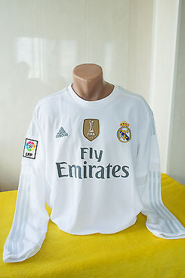 New Shirt Jersey Adidas Real Madrid Spain Home 2015 2016