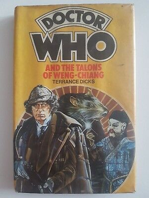 DOCTOR WHO AND THE TALONS OF WENG-CHIANG Terrance Dicks WH Allen Wingate Target